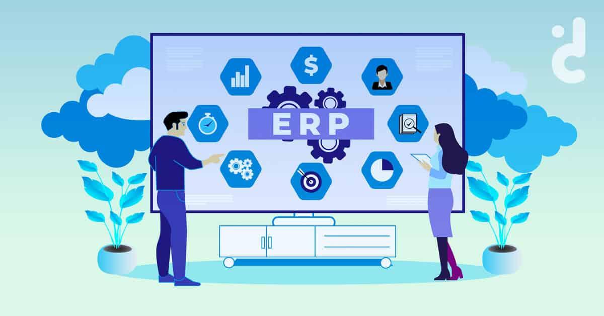 Cover บทความจ้างบริษัทรับทำระบบ ERP ต้องจ่ายเท่าไหร่