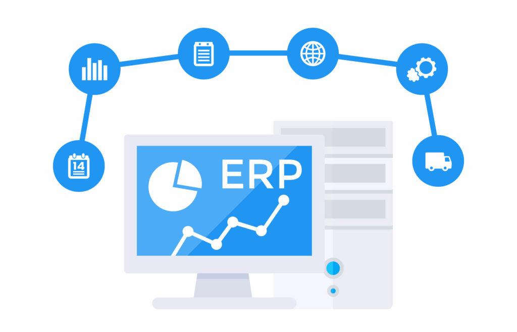 รูปภาพเปรียบเทียบ Cloud ERP และ On-Premise ERP