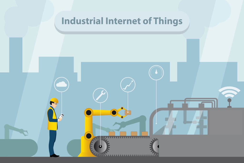 รูปภาพ Smart Factory and Internet of things