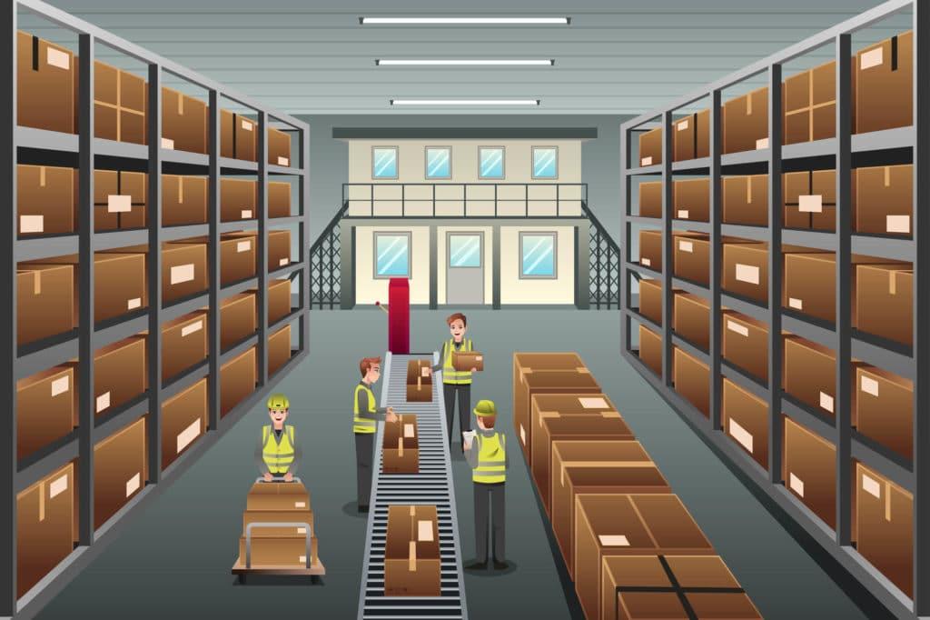 ตัวอย่างรูปภาพบริหารสินค้า (Inventory Management)